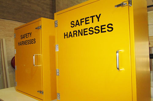 Safety storage.